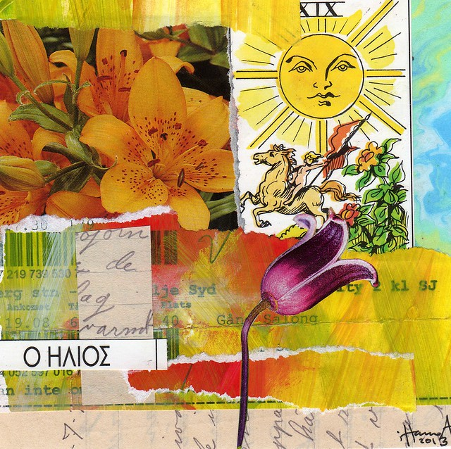 Collage: O Ilios - The Sun  (Copyright Hanna Andersson of www.ihanna.nu)