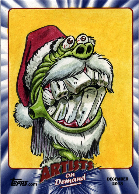 Topps AOD Ugly Santa: Ann