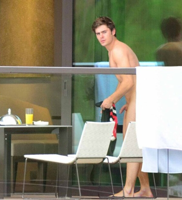 Zac efron naked only here