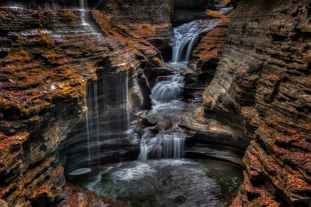 Rainbow Falls, Watkins Glen State Park, NY