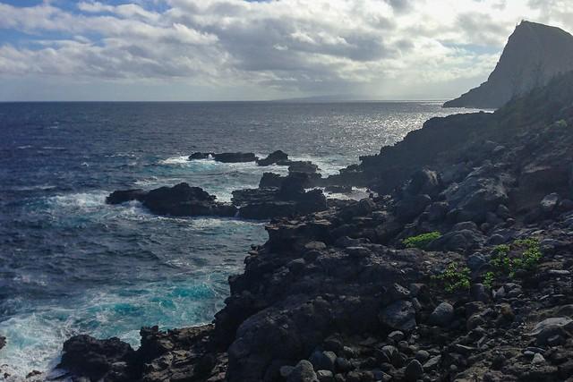 Rocky cliffs - Northwest Maui - Hawaii