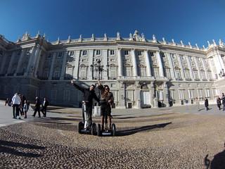 En el Palacio Real, nuestros primero  Segway tour por Madrid, turismo de futuro - 11695303604 4bc17a3552 n - Segway tour por Madrid, turismo de futuro