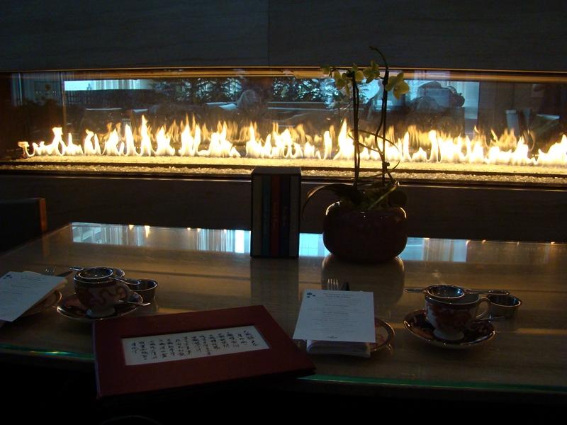 Shangri-La fireplace