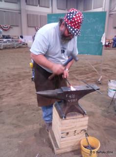 MHA 2014 Contest  TIm Carr, Blacksmith
