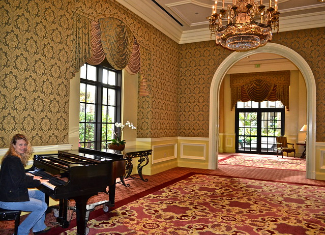 The Breakers Hotel, Palm Beach, Florida - piano room
