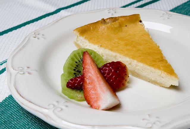 Tarta de crema de queso