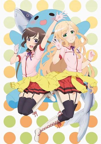 140127(3) -「名和宗則」監督電視動畫版《普通の女子校生が【ろこどる】やってみた。》推出第一張海報!
