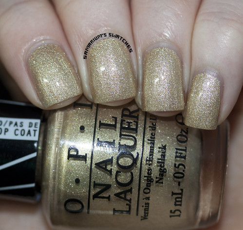 Opi Love.Angel.Music.Baby topcoated