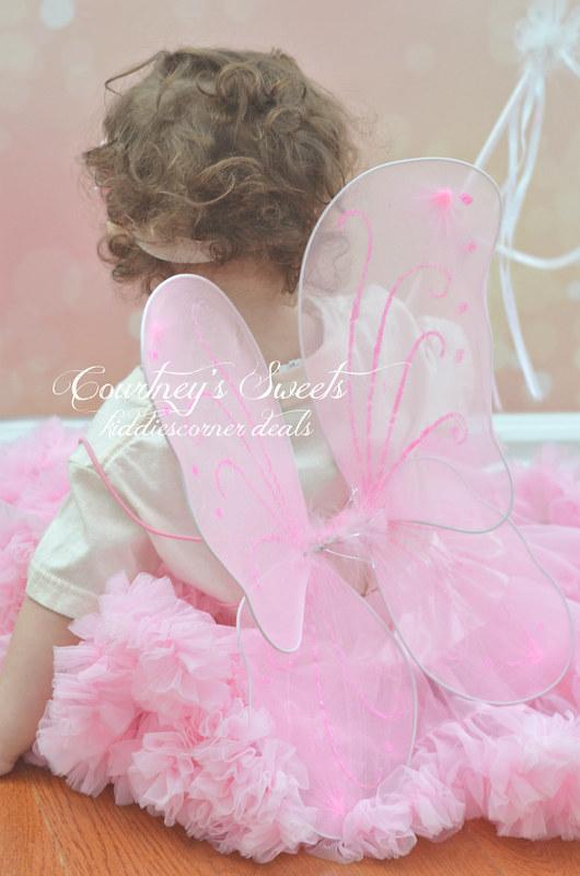 fairy princess tutu set with fairy wings