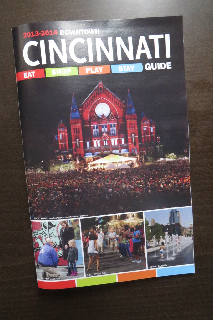 Downtown Cincinnati Guide 2013-14