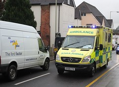 Lookers out , there is an Ambulance approaching !