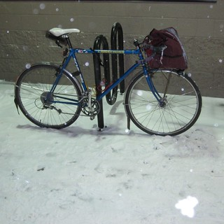 Snow day project bike