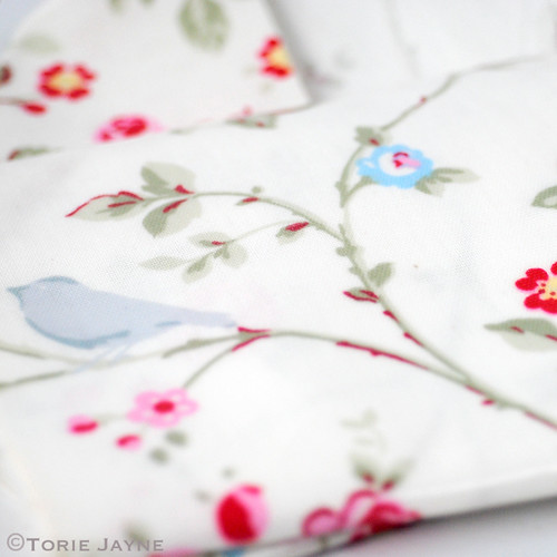 Bird Trail oilcloth