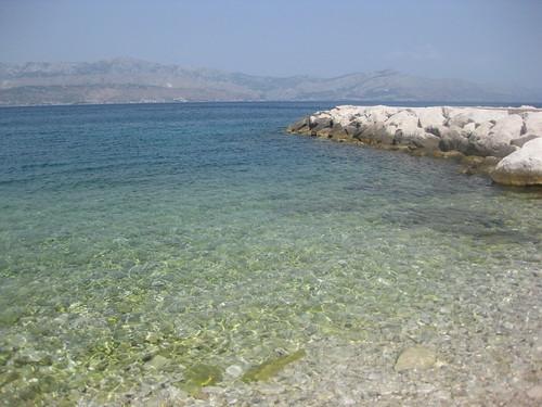 The beaches in Croatia