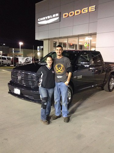 Thank you to Jared Whitehead on your new 2014 #Ram #1500 from Stevie Parham and everyone at Dodge City of McKinney! by Dodge City McKinney Texas