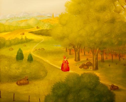 Reise zum ökumenischen Konzil, Fernando Botero; copyright 2014: Georg Berg