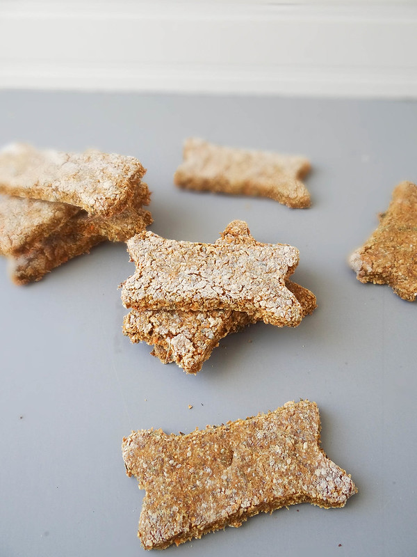 sweet potato carrot puppy treats {vegan}