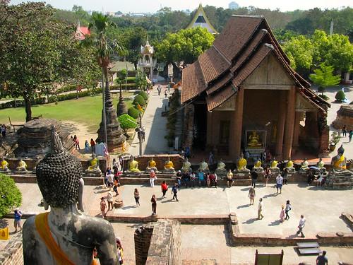 Wíhaan en Wat Yai Chaya Mongkol