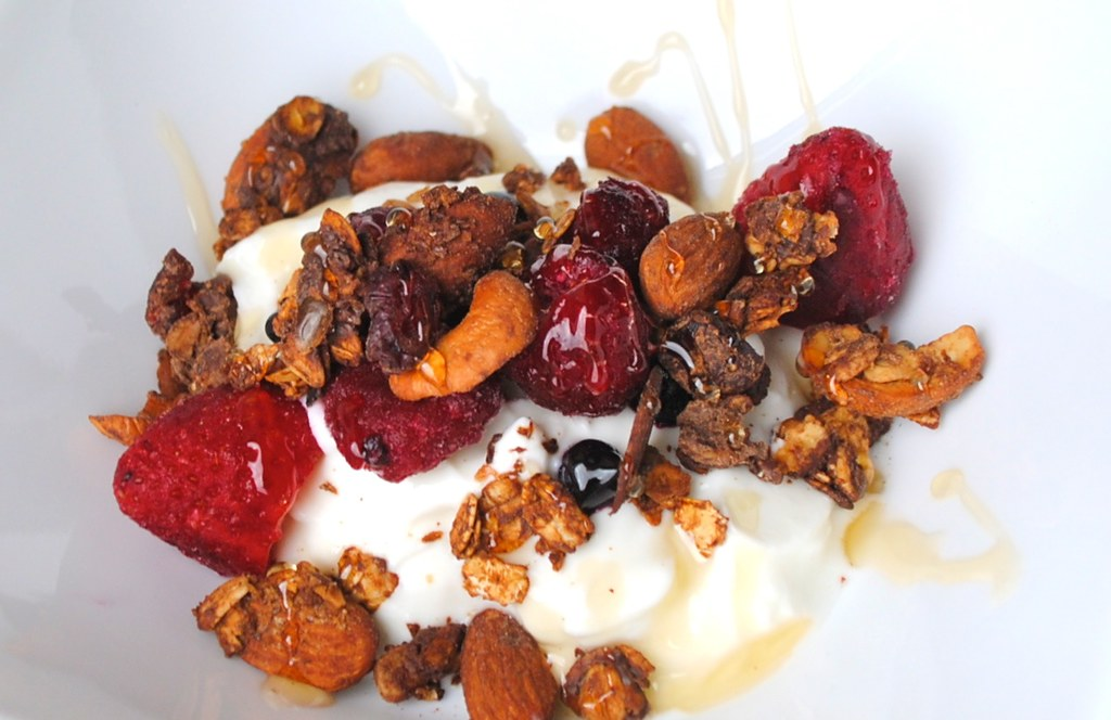 granola & yogurt 6