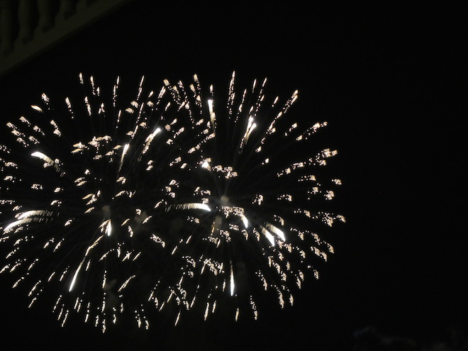 Fireworks from narcoosees