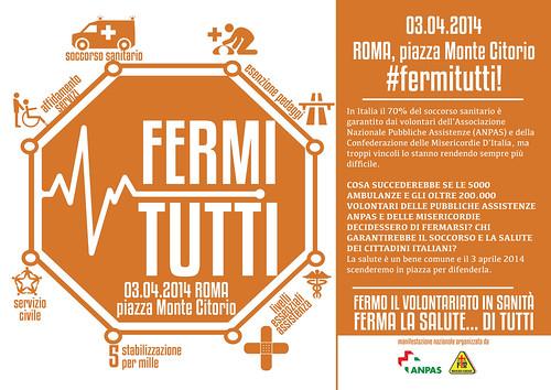 Fermi tutti: Roma 3 aprile 2014