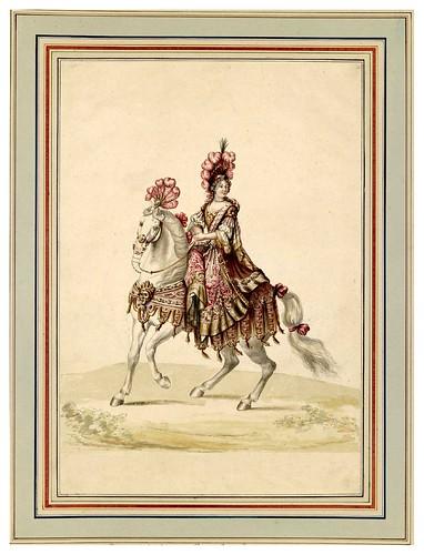 012-Carrousel des galans Maures de Grenade…1685- Jean Berain- INHA