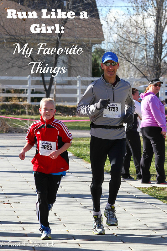 Run Like a Girl: My Favorite Things | cookincanuck.com #running #runwithdara #exercise #fitness