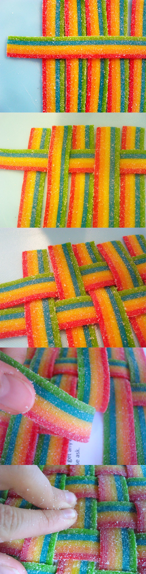 Weaving a rainbow