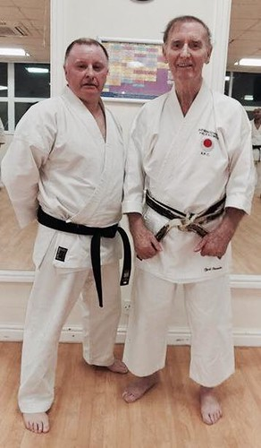 Shihan Cummins and Nephew Sensei Derek Kealy 7th Dan