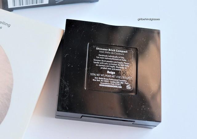 Bobbi Brown Shimmer Brick Compact Beige2