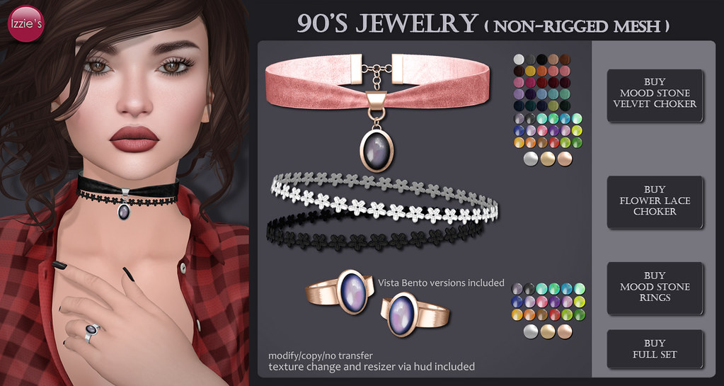 90's Jewelry (@ Rewind) - SecondLifeHub.com