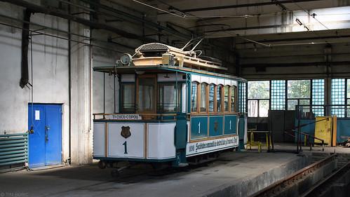 iași tram tramway streetcar strassenbahn tramvat remise depot dacia romania