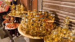 Oriental coffee pots in Khan El-Khalili