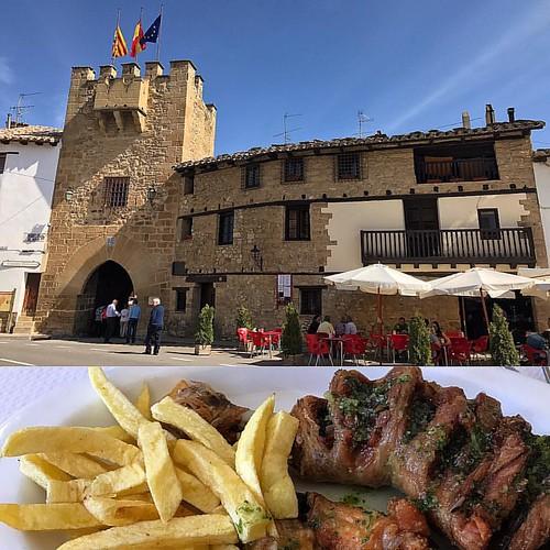 #rubielosdemora #teruel #aragon #españa #spain #gastronomia #polloalajillo #pascua #easter #rutadelhambre #iphone7 #spring #primavera