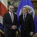 Secretary General Meets with Foreign Minister of Costa Rica