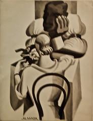 Untitled (Manicure) (c.1928-1930) - José de Almada Negreiros (1893-1970)