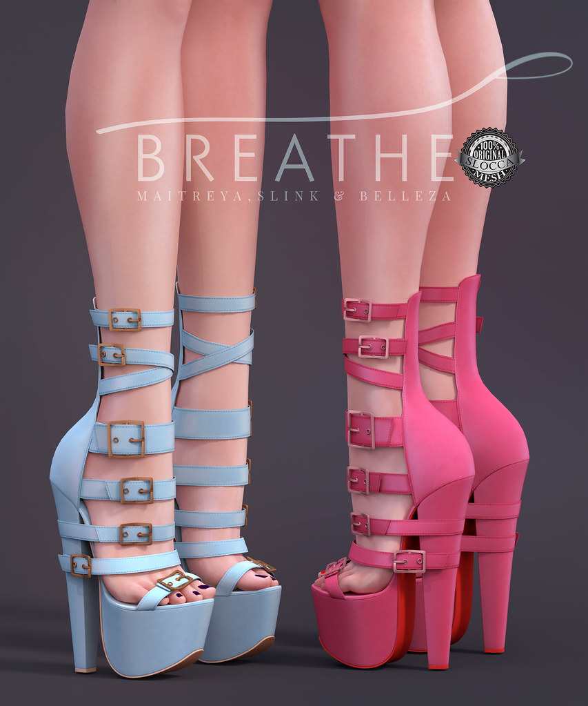 [BREATHE]-Bonnie Heels - SecondLifeHub.com