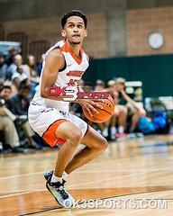 Brandeis' Kobe Magee at the SAAABC 6A All Star Basketball game. #ok3sports #sportsphotography