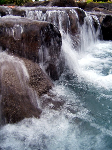 waterfall, Fujifilm FinePix E550