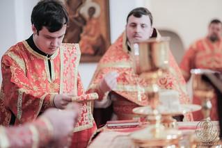 Литургия в Хутынском монастыре 260