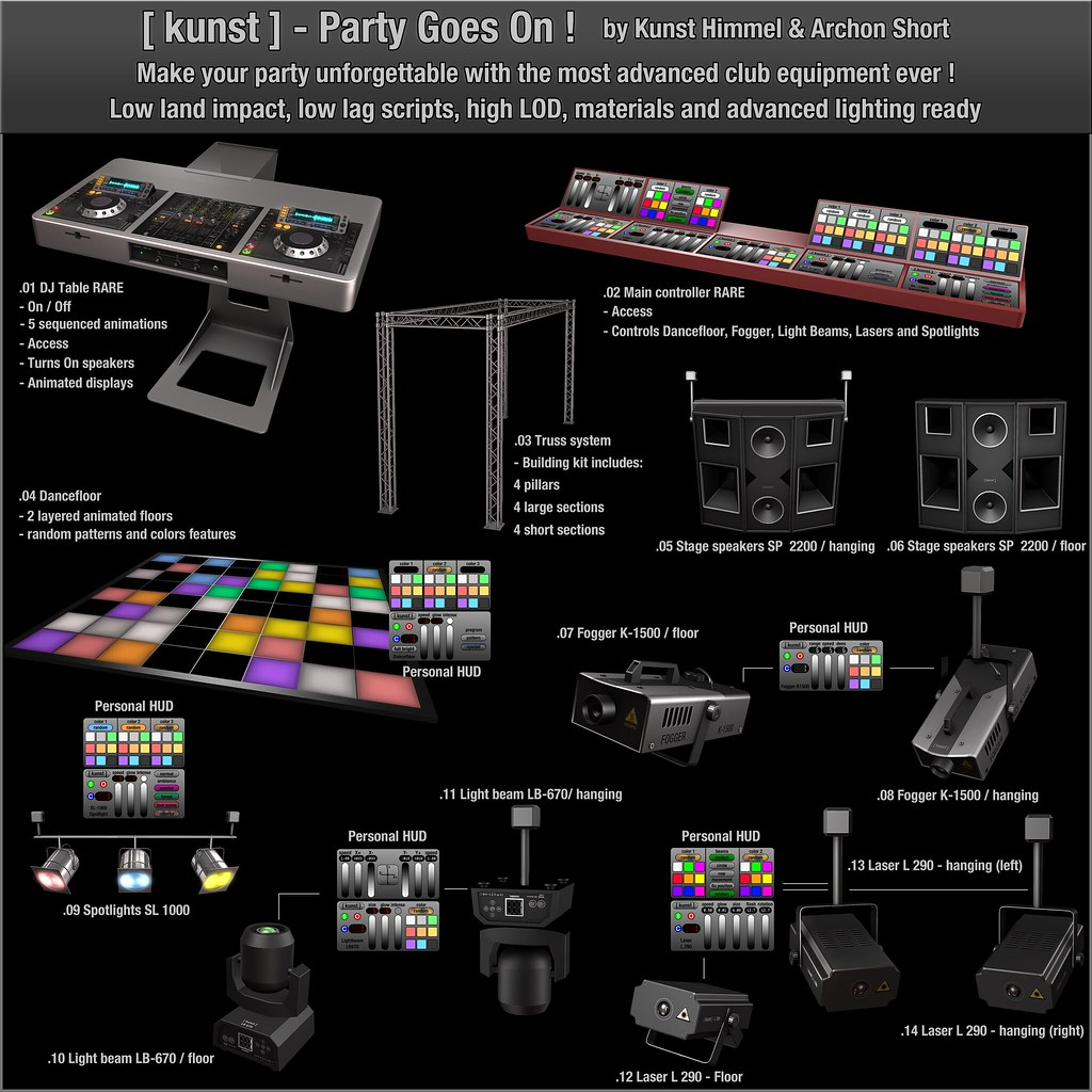[ kunst ] - Party Goes On ! - SecondLifeHub.com