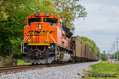 BNSF 9018 | EMD SD70ACe | NS Memphis District