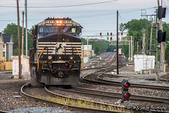 NS 9451 | GE C44-9W | BNSF Thayer South Subdivision
