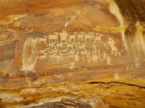 explore utah petroglyphs native art