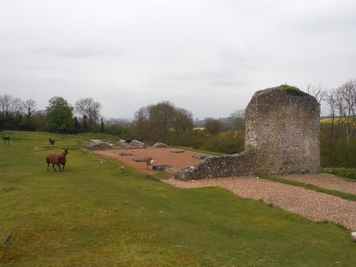 Clarendon Palace remnants