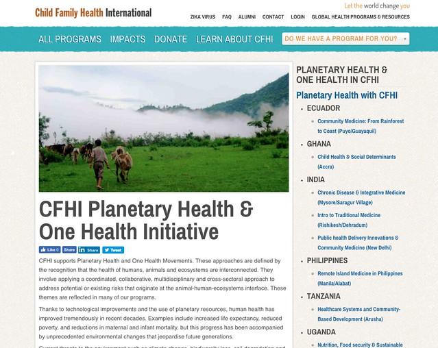 planetary health