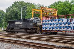 NS 2554 | EMD SD70 | NS Harris Yard
