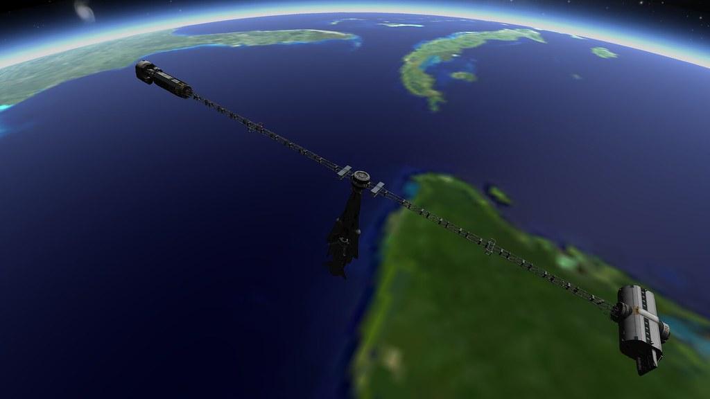 OSG Antonin Dvorak with the Knight shuttle docked