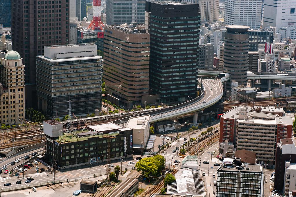 Osaka floating garden