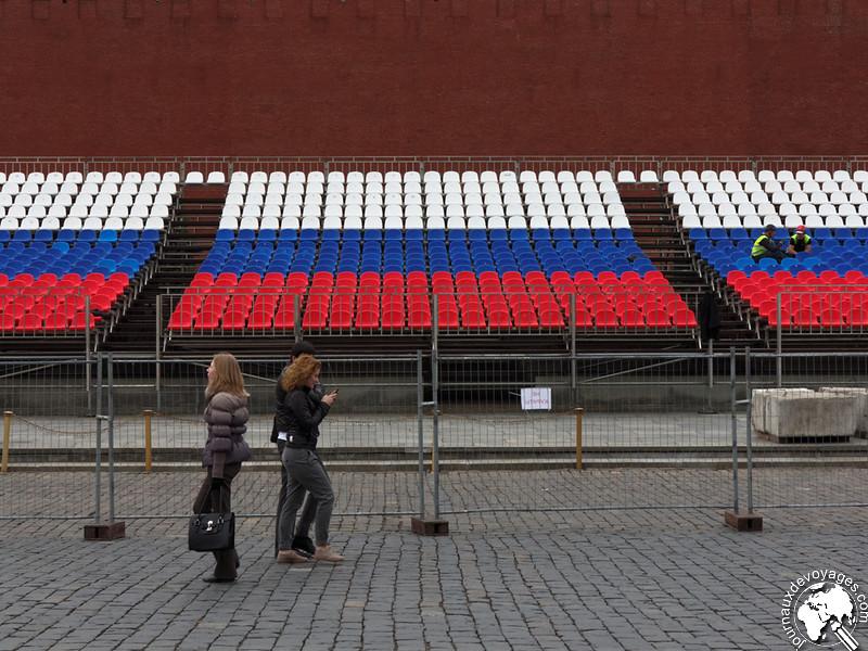 Préparatifs du 9 mai au Kremlin